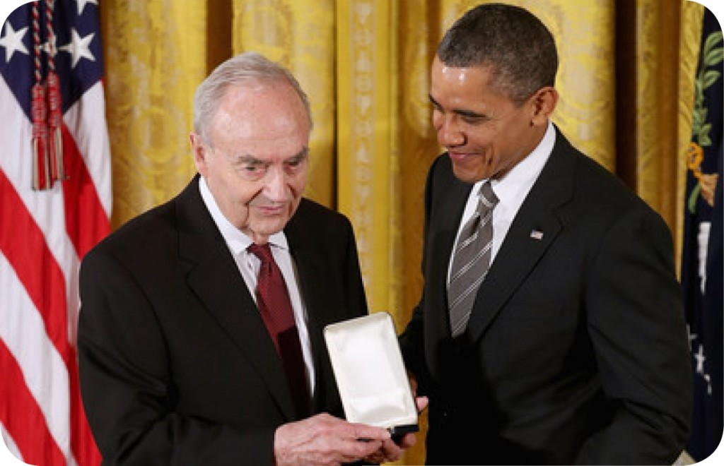 Harris Wofford and Pres. Obama
