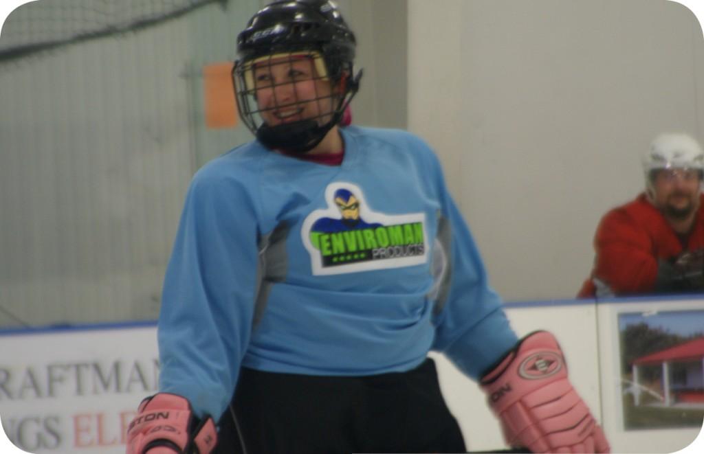 NHL Alumni Challenge Natalie