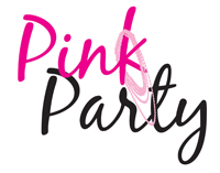 pink party logo horizonal