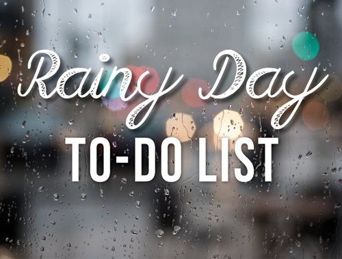 Rainy-Day-To-do-list
