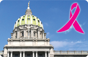 Capitol and Pink Ribbon