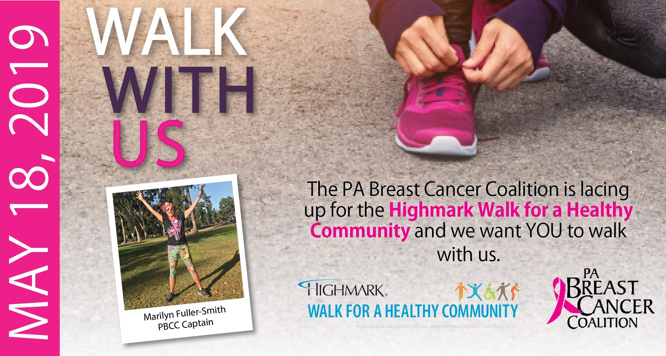 Walk with the PBCC on May 18!