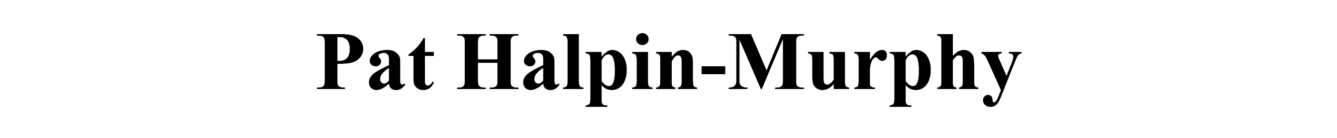 Pat Halpin-Murphy